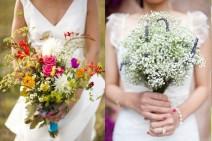 Le bouquet de mariee