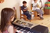 Leveil musical pour les enfants