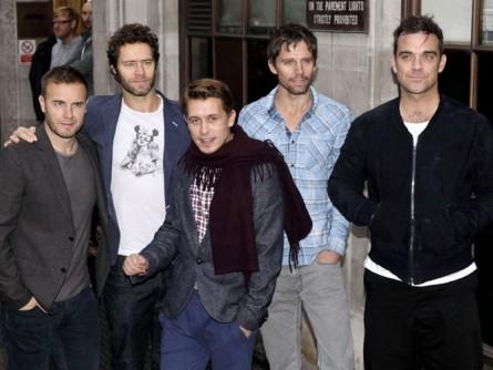 Take That et Robbie Williams