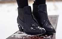 chaussures  hiver